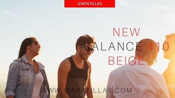 new balance 410 hombre beige