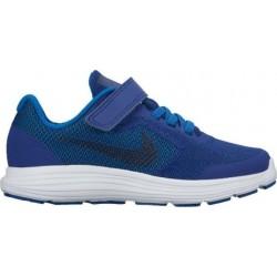 Nike Niño Zapatilla Revolution 3 (PSV) 819414 408 Azules