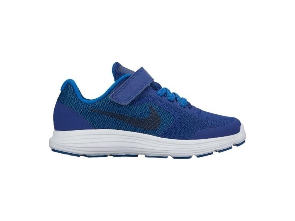 c9a341546 Nike Niño Zapatilla Revolution 3 (PSV) 819414 408 Azules