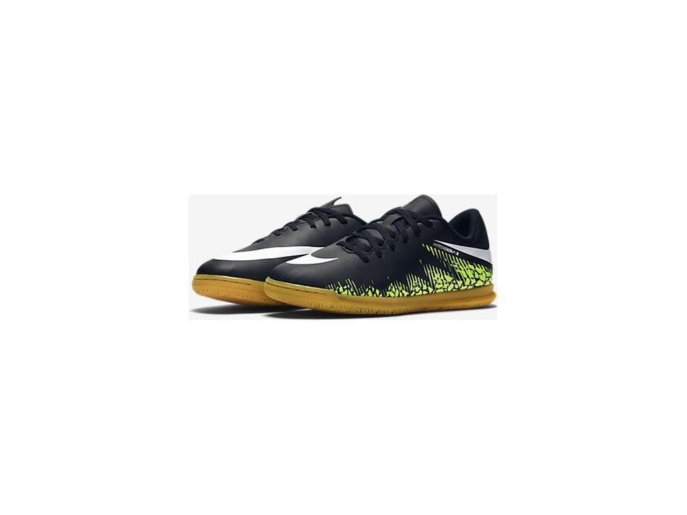 Nike Niño Hypervenomx Phade II IC Fútbol Sala 749911 017 Negras