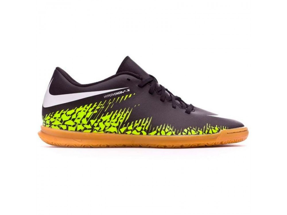 af8fc31e3 Nike Niño Hypervenomx Phade II IC Fútbol Sala 749911 017 Negras