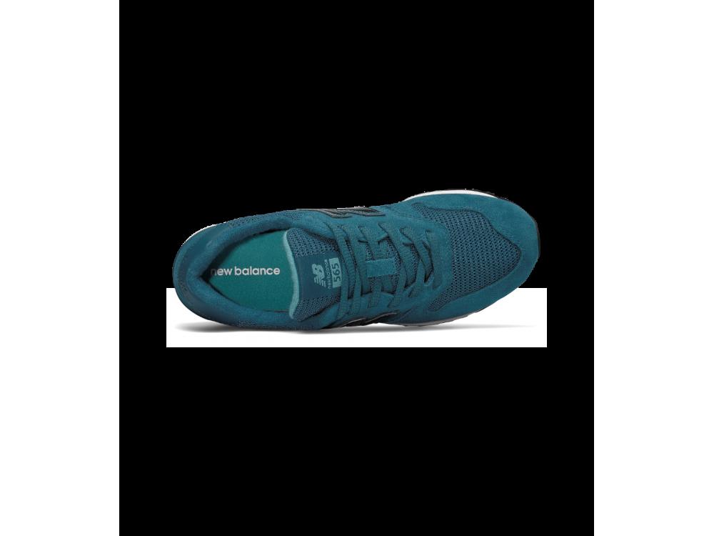 new balance grises y azul turquesa