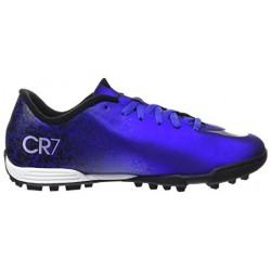 Nike Niño Futbol MERCURIAL VORTEX II CR7 TF 684858 404 Azules