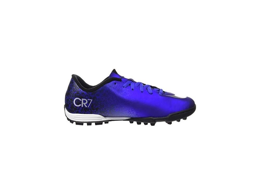 51ccf2bb98814 Nike Niño Futbol MERCURIAL VORTEX II CR7 TF 684858 404 Azules