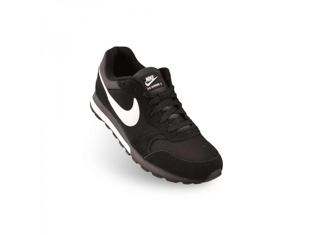 Cusco pasillo recuperación  Nike: Zapatillas Hombre Nike MD Runner 2 Negras|Comprar Bambas Nike Casual  749794 0010 Baratas.