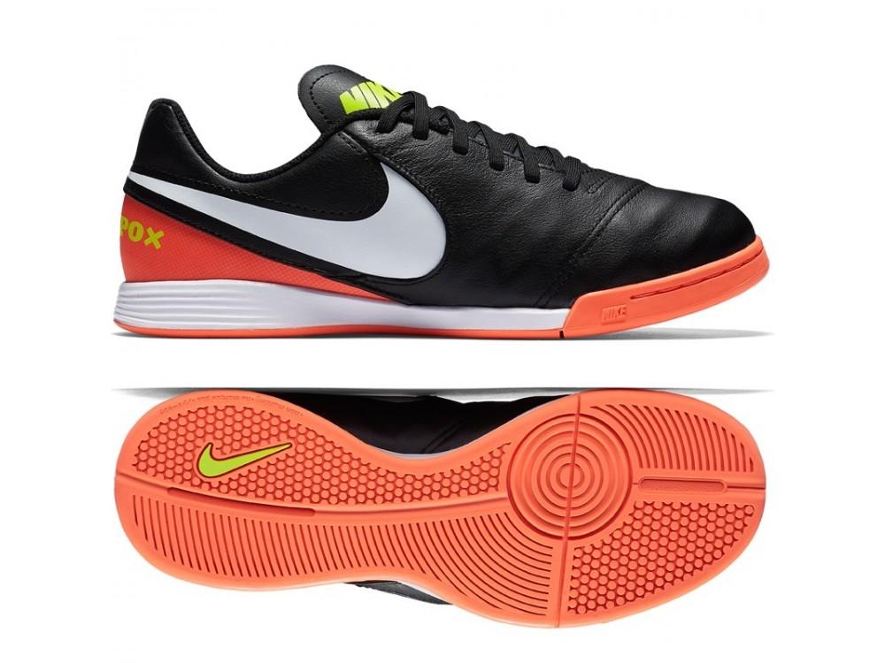 Nike Tiempox Legend VII IC | Comprar Bota Niño Fútbol Sala 819190 018 Negras