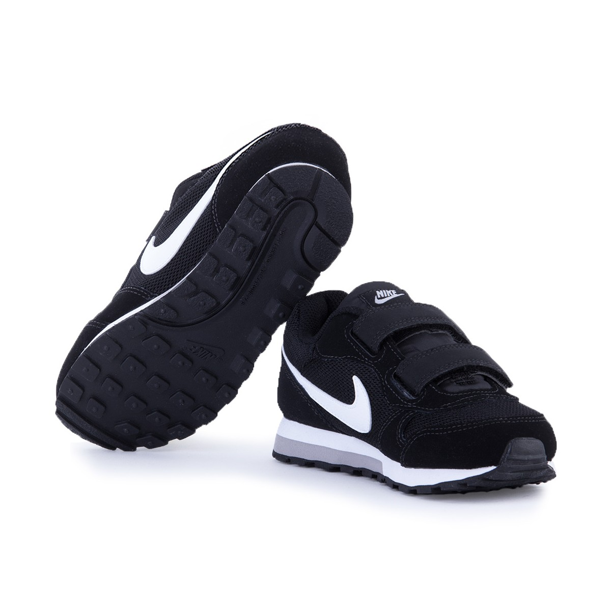 67d2b4f7f ... Nike MD Runner 2 Zapatillas Niño 807317 001 Negras ...