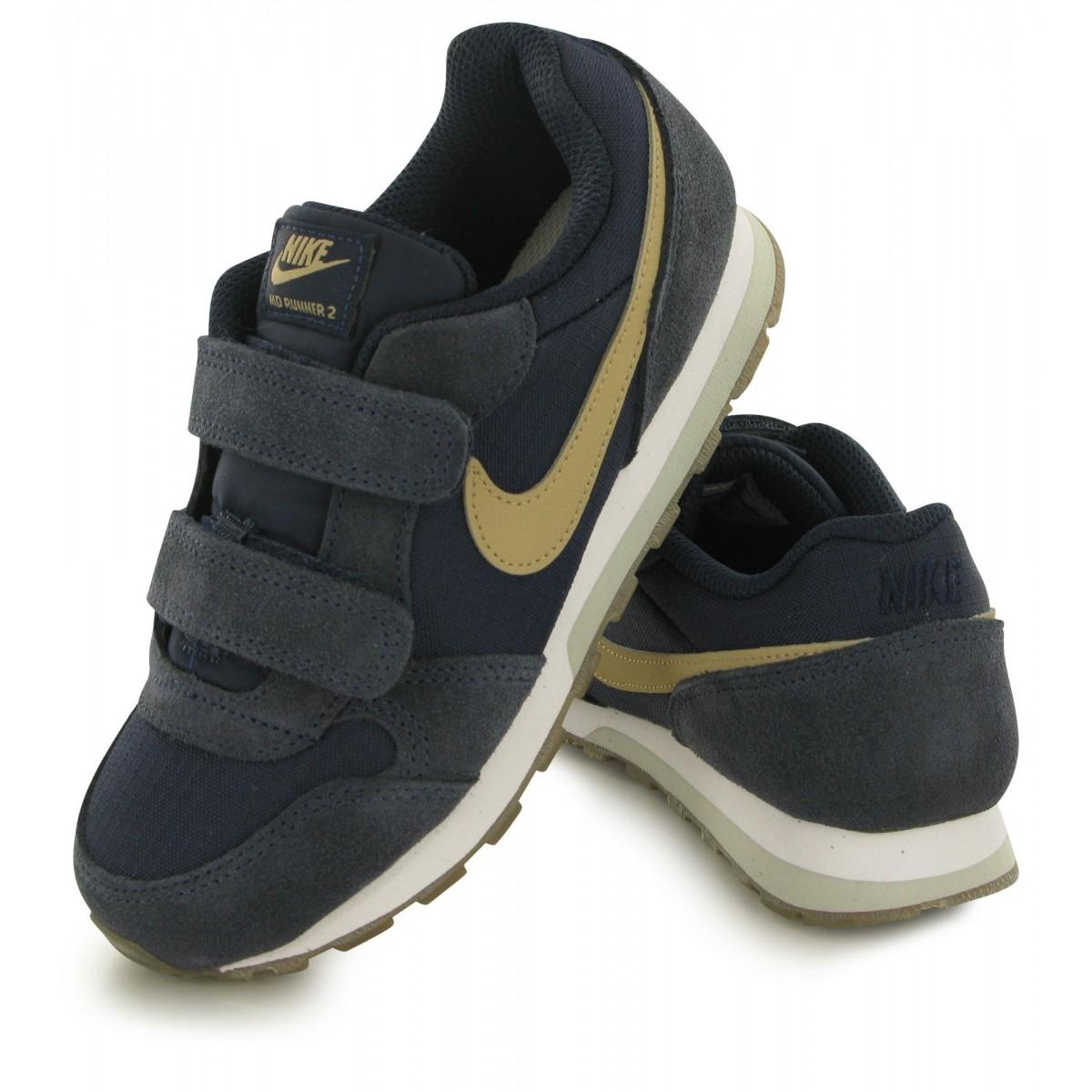 low priced 37473 ae120 ... Nike MD Runner 2 Zapatillas Niño 807317 409 Azul Marino ...