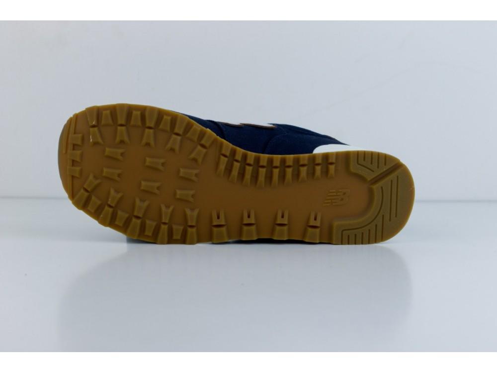 New Balance Zapatilla Hombre ML574 YLC Azul Marino