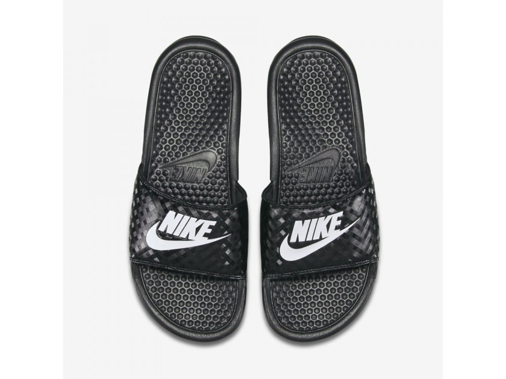 Movilizar Explosivos falta de aliento  Nike Benassi Chanclas Mujer 343881 011|Comprar Nike Benassi Negras Mejor  Precio
