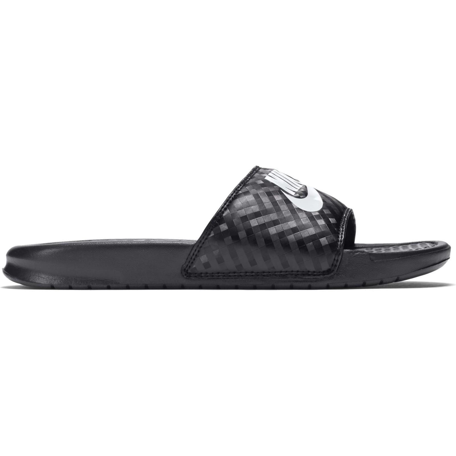 Ópera crédito simultáneo  Nike Benassi Chanclas Mujer 343881 011|Comprar Nike Benassi Negras Mejor  Precio