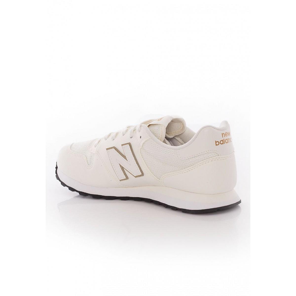 160bb8440f46c ... New Balance Zapatilla Mujer GW500 OGO Blancas y Doradas ...