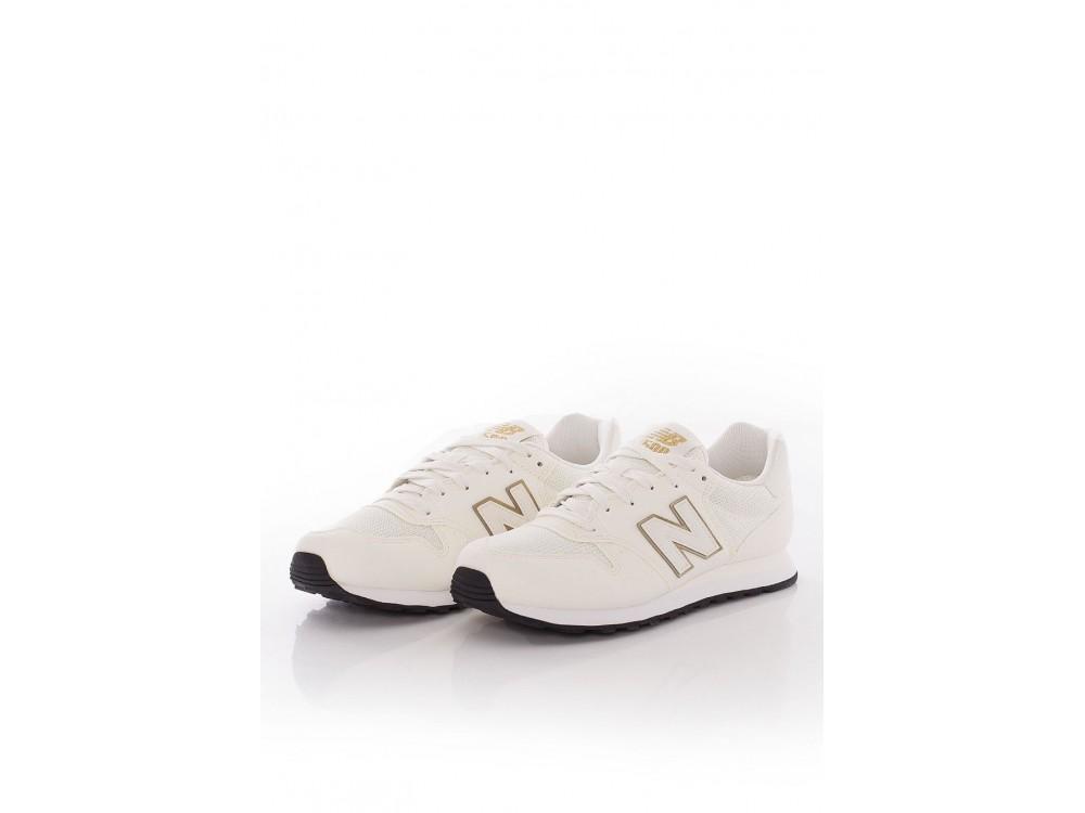 New Balance Zapatilla Mujer GW500 OGO Blancas y Doradas
