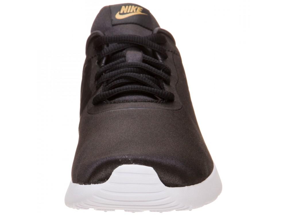 Nike Tanjun Premium Zapatillas Mujer 917537 003 Negras Metalizadas