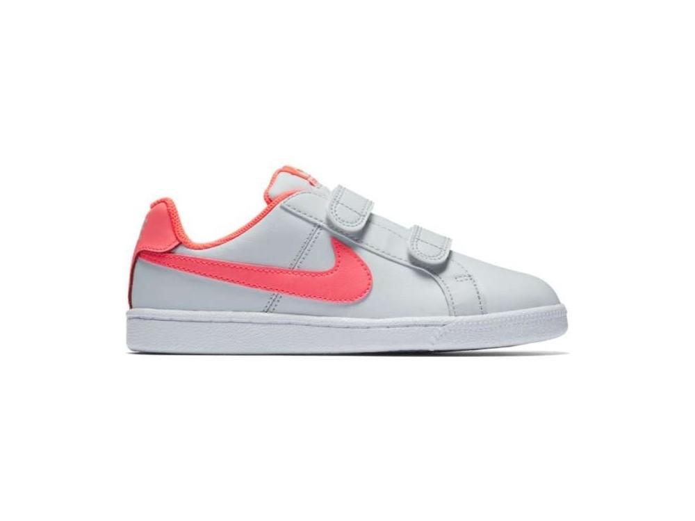 Nike Court Royale Zapatilla Niña 833656 005 Grises
