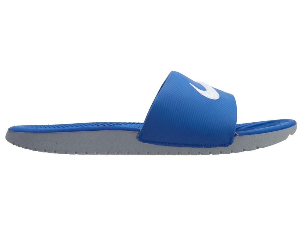 Nike Kawa Slide Chancla Niño 819352 400 Azules