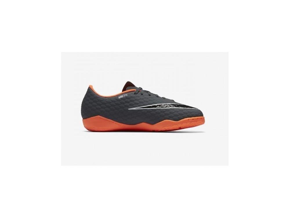 Nike Hypervenom Phantomx Academy 3 Zapatillas Niño Fútbol Sala AH7295 081 Grises