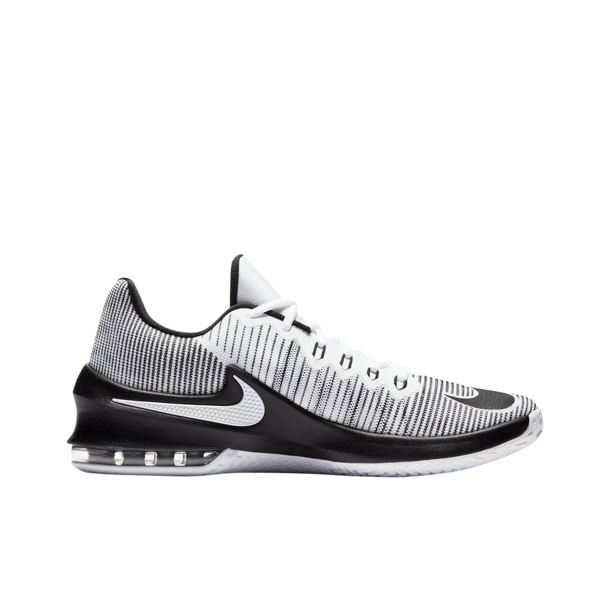 on sale 78b47 091f1 Nike Air Max Infuriate 2 Low Zapatilla Hombre 908975 100 Blancas