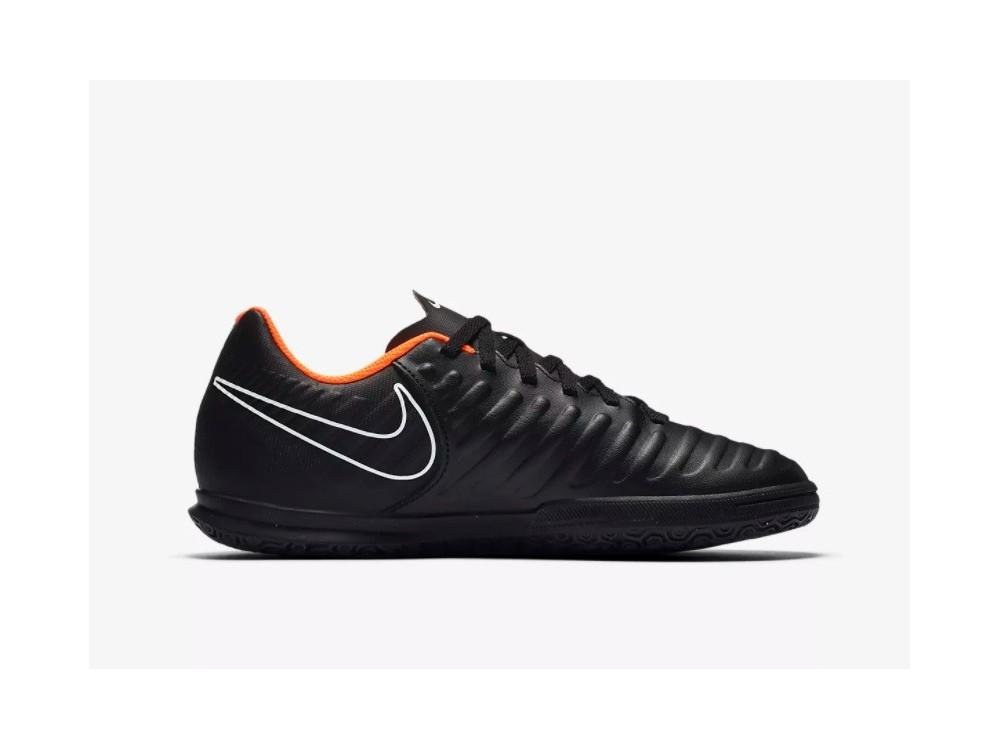 b646c1c6af44d Nike LegendX 7  Zapatillas Fútbol Sala Niño Negras  AH7260 080 ...