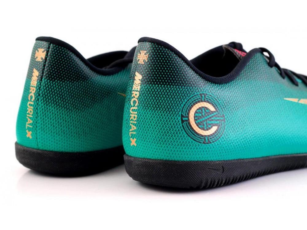 NIKE MERCURIALX VAPOR 12 Zapatillas Nike Fútbol Sala CR7 AJ3105 390