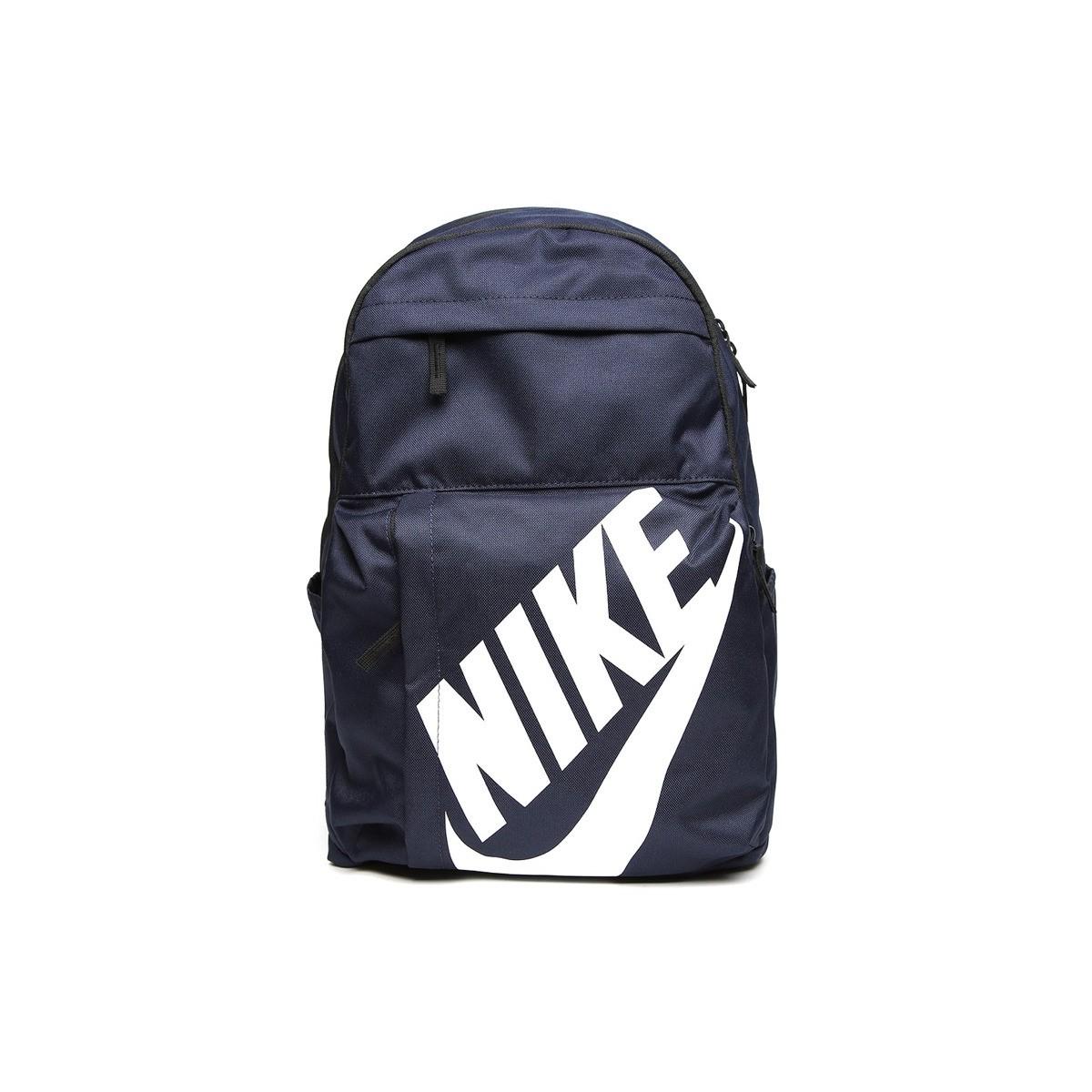 fad68d430d4 MOCHILA NIKE AZUL   Mochila Nike Elemental Logo Azul Marino mejor ...
