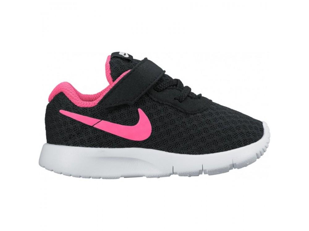 b308f03fb97fa NIKE TANJUN NEGRAS Y ROSAS NIÑA   Comprar Nike Tanjun TDV 818386 061