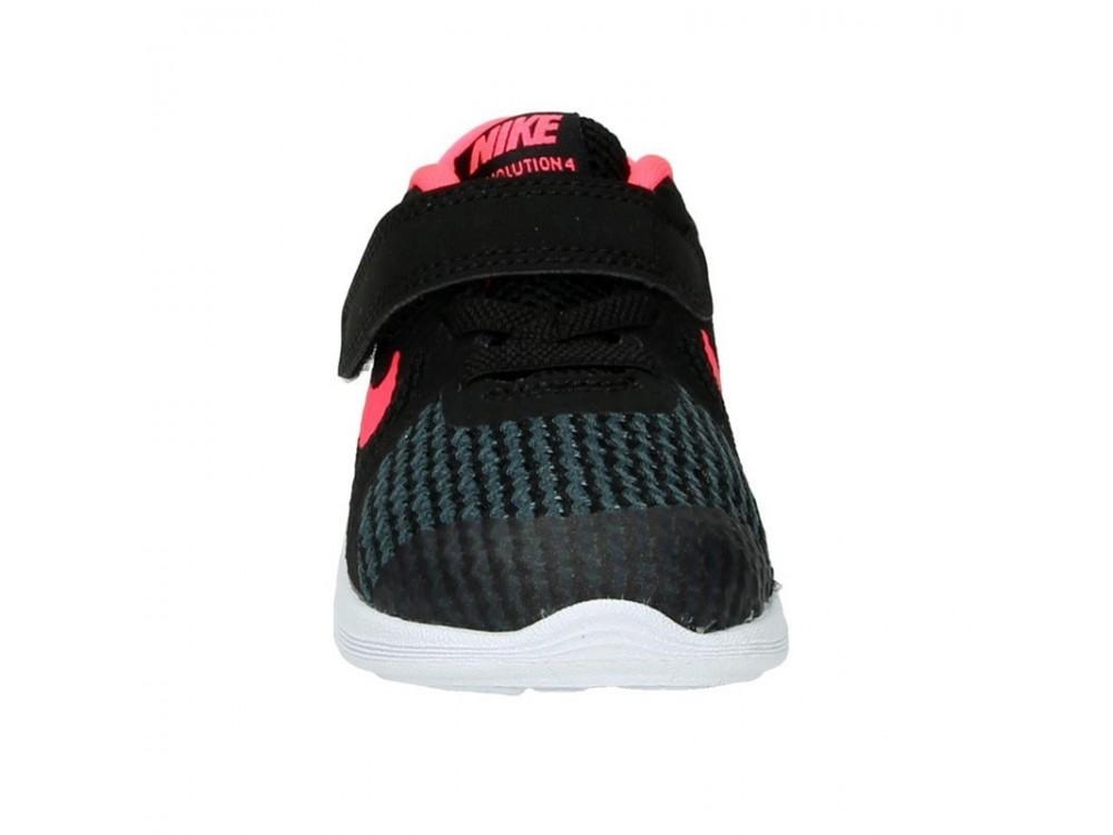 Buscar montar Misterioso  NIKE REVOLUTION 4 NEGRAS Y ROSAS NIÑA: Zapatillas Nike Niña 943308 004  Online