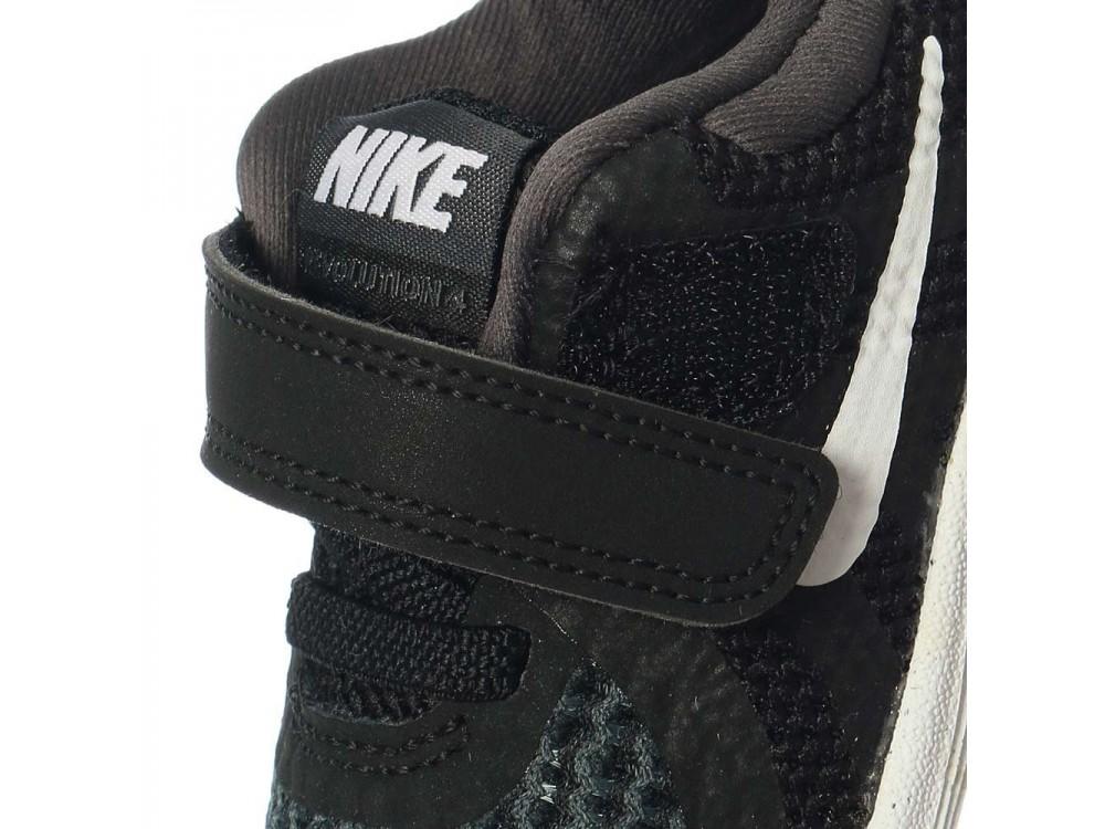 NIKE REVOLUTION 4 TDV NEGRAS:: Zapatillas Nike NIño Online