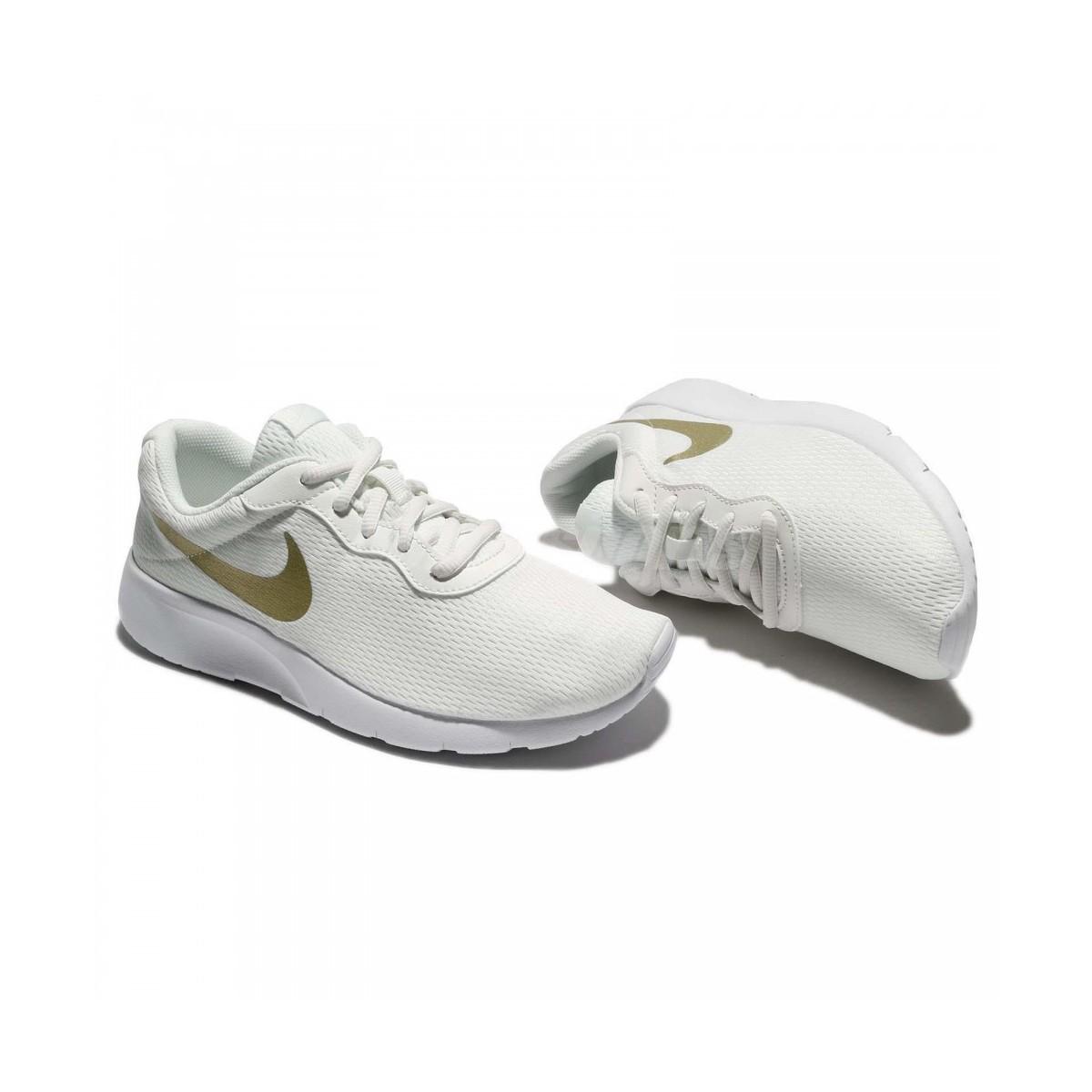 Nike tanjun blancas doradas mujer 818381 100 ek16iQ