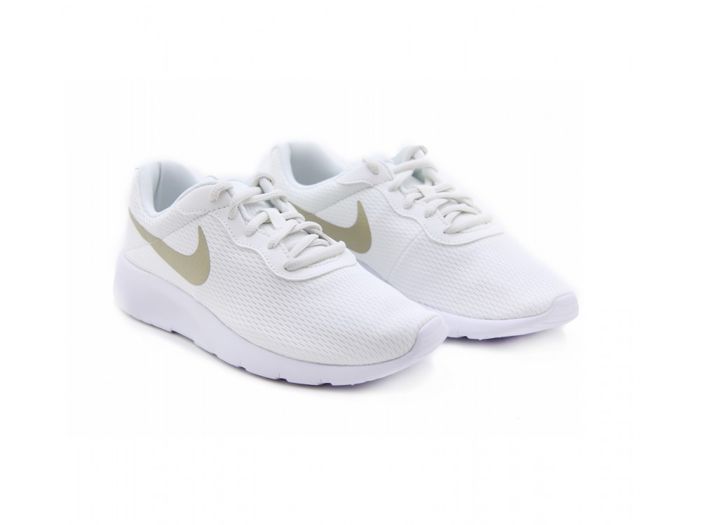 A fondo liderazgo Sinfonía  NIKE TANJUN BLANCAS: Zapatillas Nike Tanjun GS Mujer 818381 100 Mejor Precio