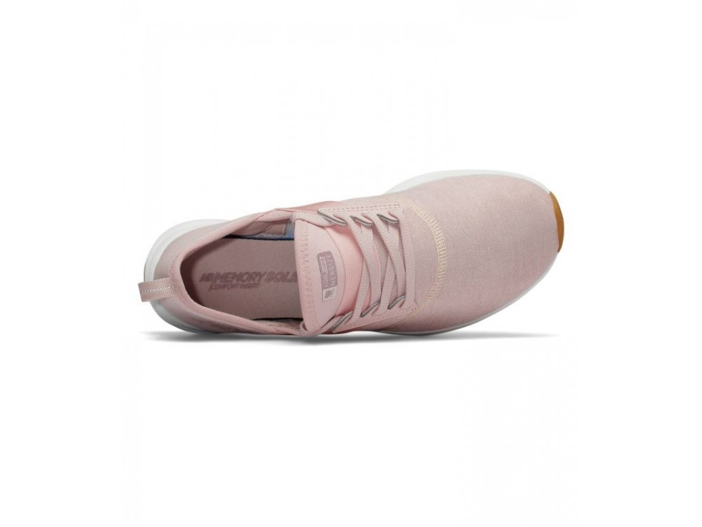 calzado new balance mujer rosas