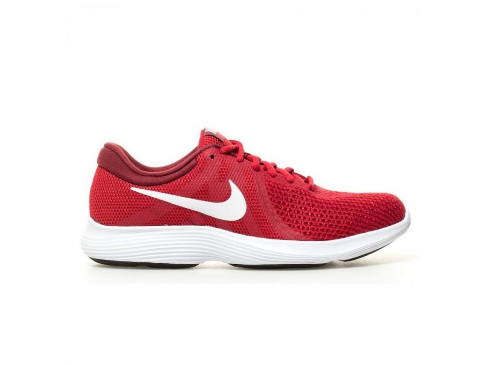 best sneakers 4553f bb3e3 NIKE REVOLUTION 4 ZAPATILLAS HOMBRE AJ3490 600 Rojas