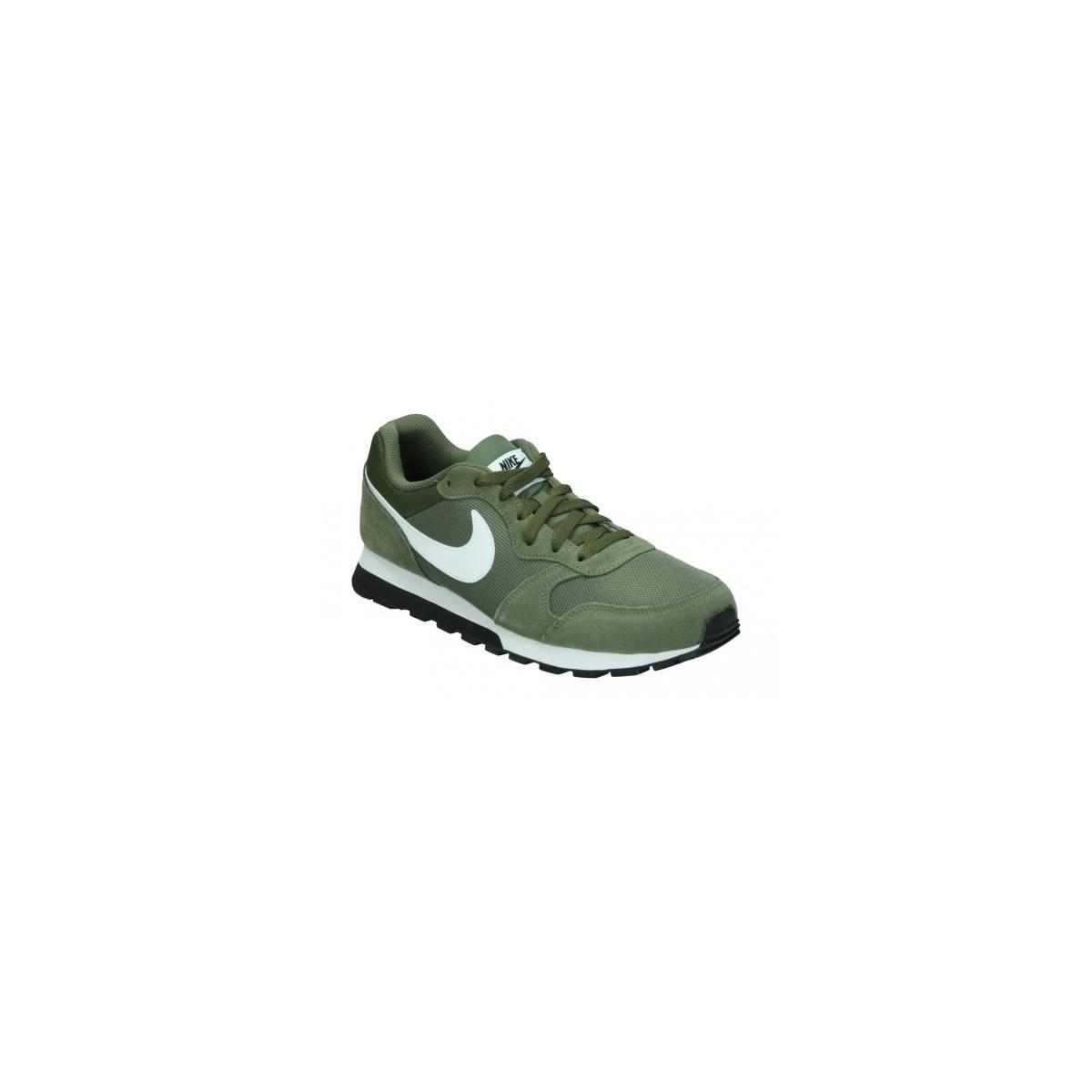 Nike MD Runner 2 Zapatillas Hombre 749794 204 Verdes - Tienda ... 741674c674a17