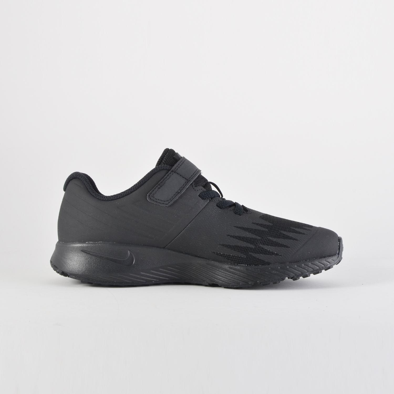 NIKE STAR RUNNER NEGRAS NIÑO:: Zapatillas Nike Negras Niño