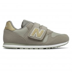 NEW BALANCE NIÑA KV373 GUY GRISES
