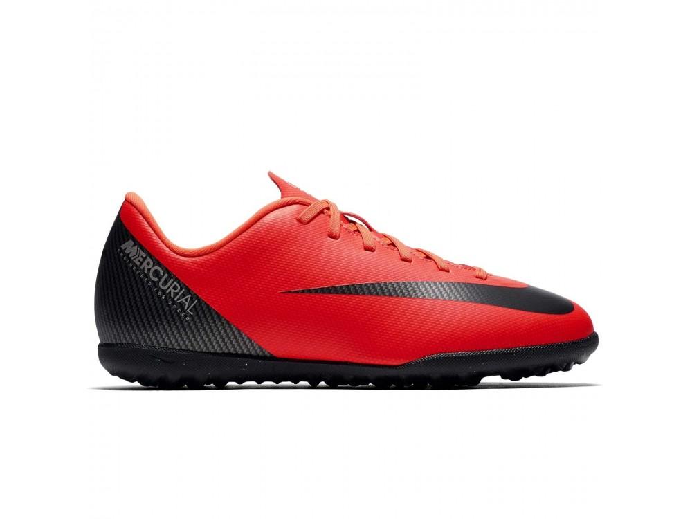 NIKE MERCURIALX CR7: Nike Fútbol Multitaco Niño AJ3106 Rojas