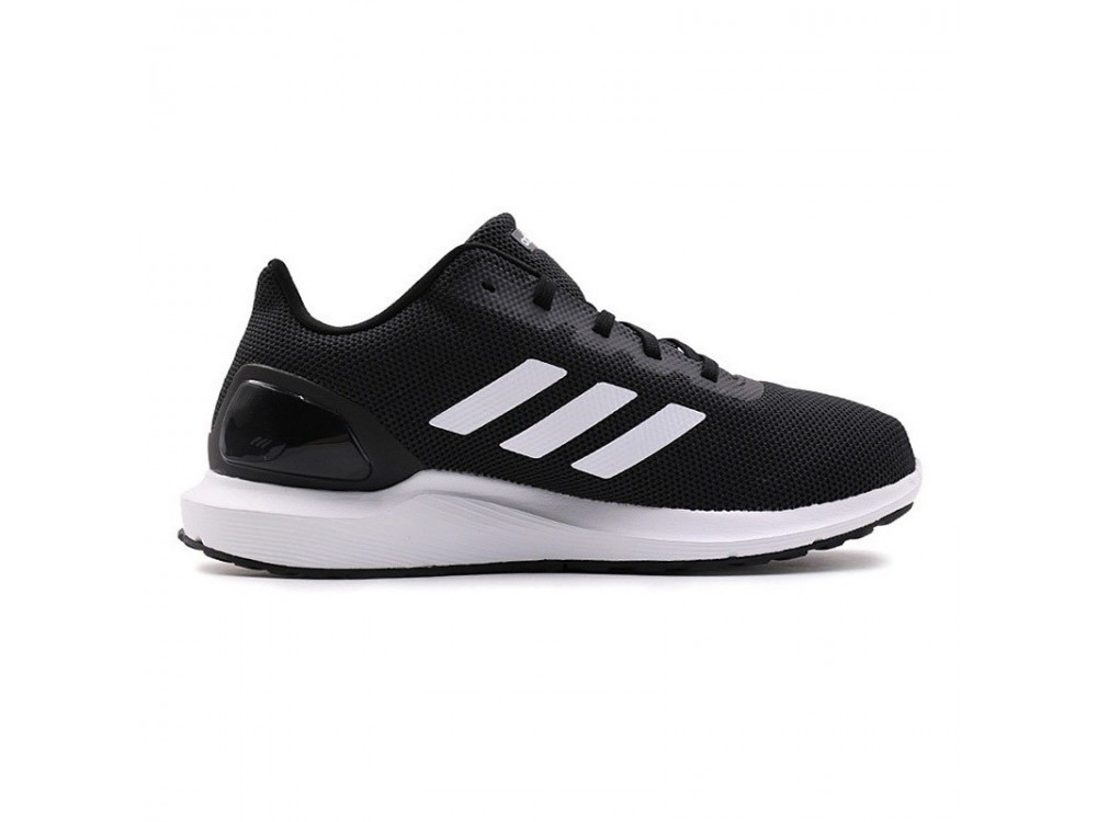 zapatillas running hombre negras adidas