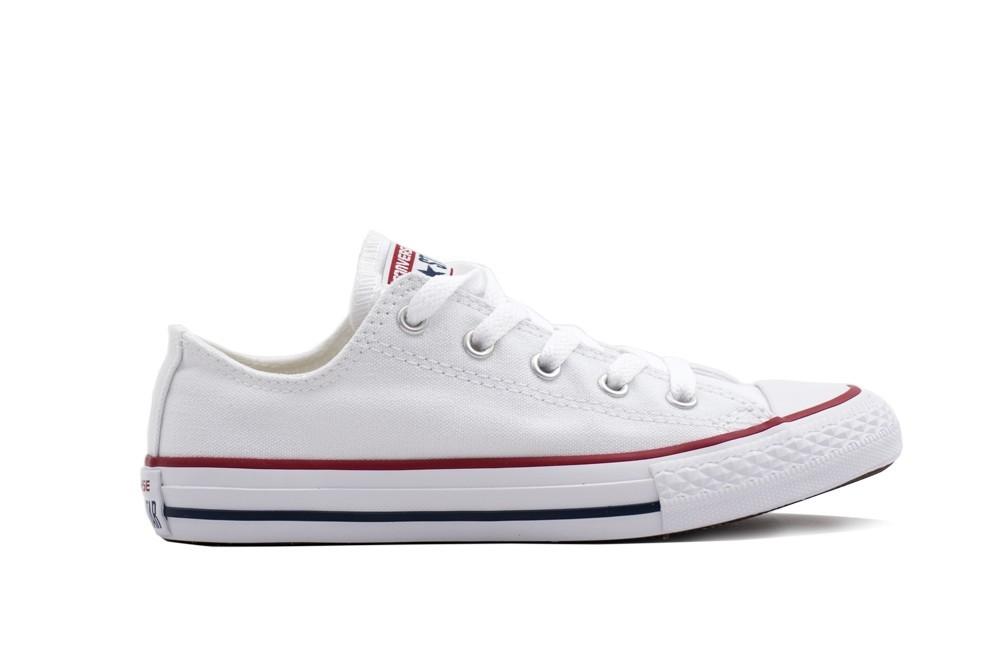zapatillas blancas niño converse