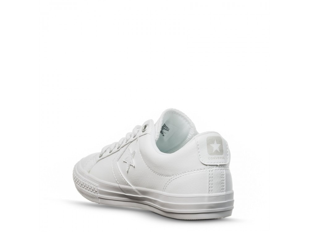 zapatillas converse mujer blancas piel