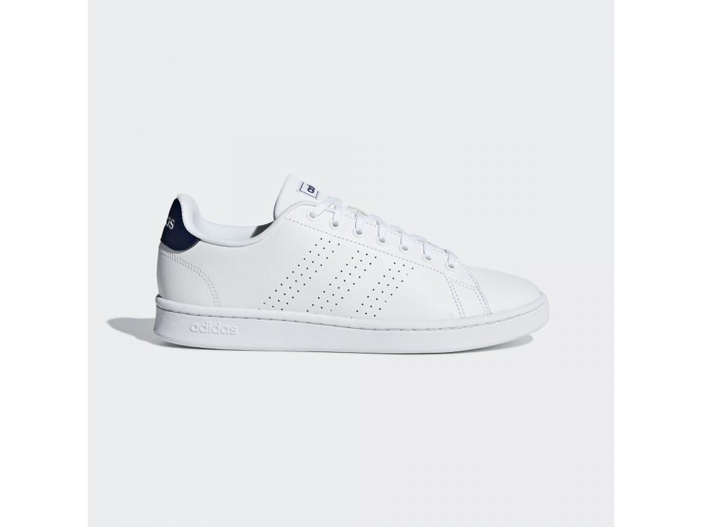 zapatillas casual hombre adidas blancas