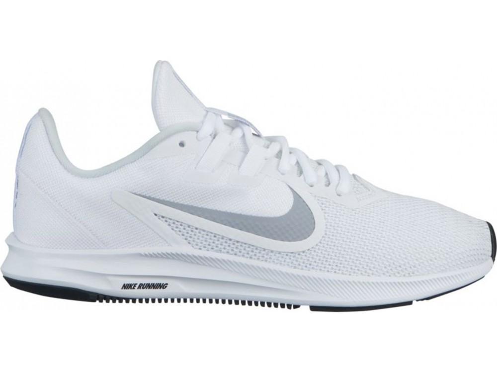 Jabón Certificado Guión  NIKE DOWNSHIFTER 9 BLANCA: Zapatillas Nike Running Hombre AQ7486 100 Mejor  Precio.