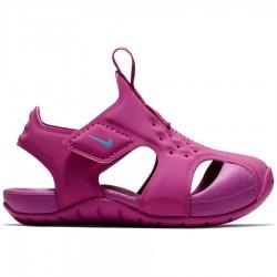 Chancla Nike Sunray Protect 2 TD 943829 500 Rosa Niña