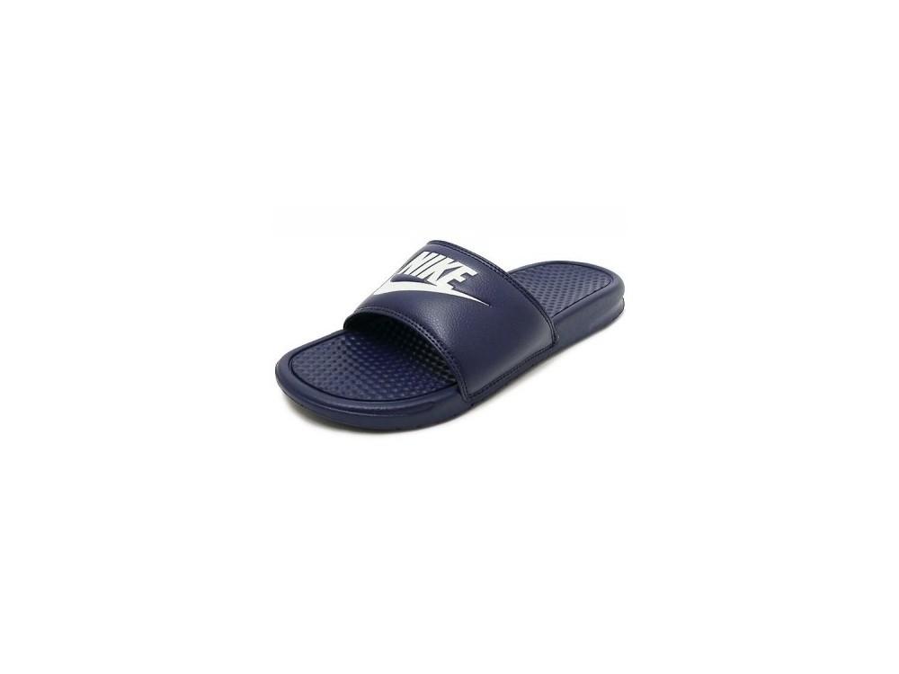 Nike Benassi JDI Chanclas Hombre Azul Marino 343880 403