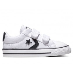 Zapatillas Niño-Niña Converse All Star 2V OX 763527C Blancas
