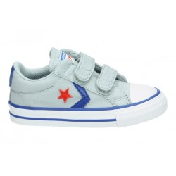 Zapatillas Niño-Niña Converse Star Player 2V OX 763529C Grises