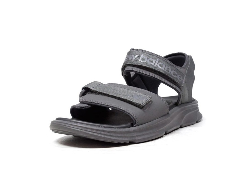 NEW BALANCE CHANCLA THREE STRAPS SANDAL SDL250BK NEGRAS