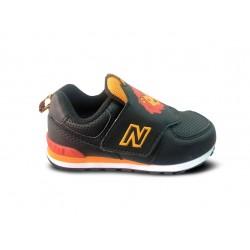 NEW BALANCE ZAPATILLA NIÑO IV574ZOL DAY AT THE ZOO WIDE NEGRAS