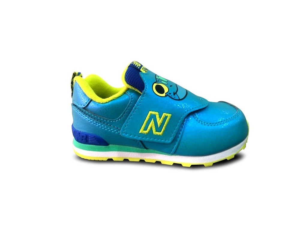 NEW BALANCE ZAPATILLA NIÑO IV574ZOF DAY AT THE ZOO WIDE AZULES
