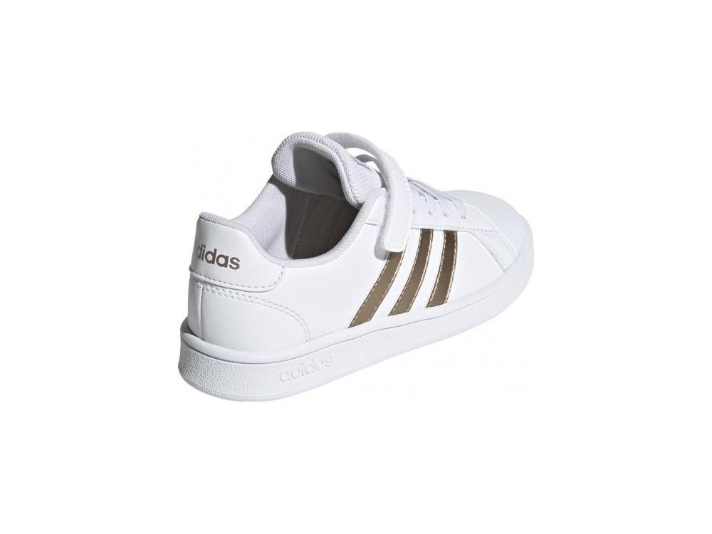 Astrolabio Escupir Leer  ADIDAS : Adidas Grand Court|Comprar Zapatillas Niña EF0107 Blancas.