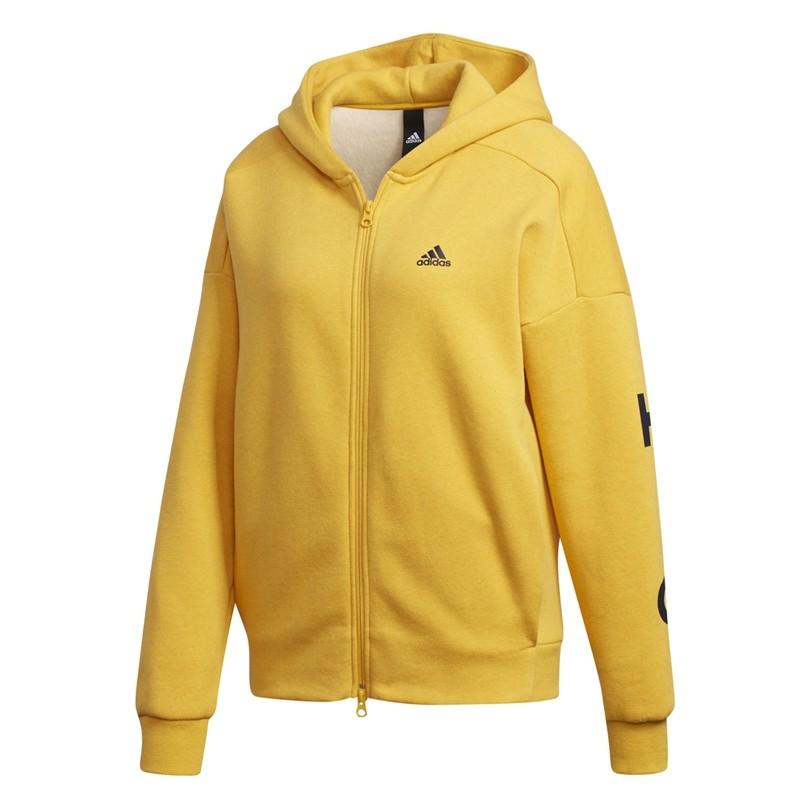 diseño novedoso varios estilos 100% autenticado ADIDAS SUDADERA MUJER:: Adidas S2S SWT FZHD ED1517 Amarillo Mejor Precio.
